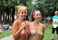 Pictures Gotopless Day Italy