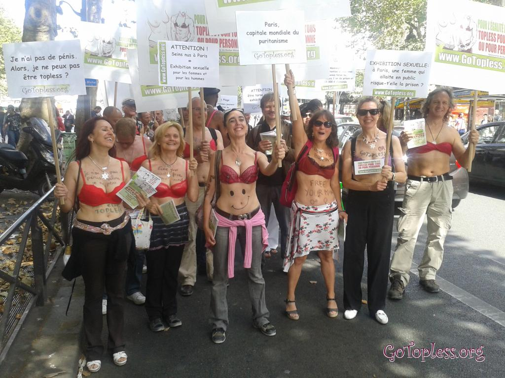 Protest: Time to be Topless